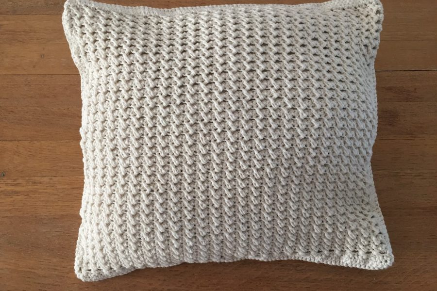 cushion crochet pattern