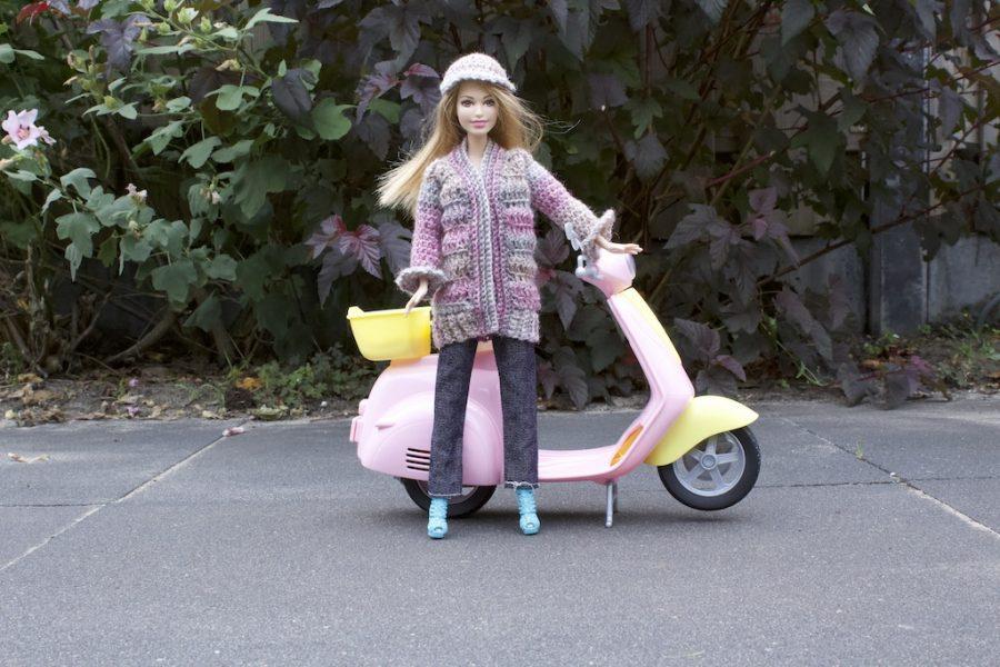 barbie cardigan crochet pattern