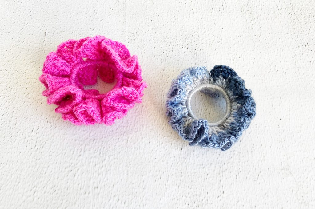 scrunchie crochet pattern