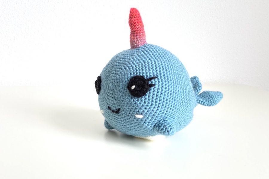 Narelle Narwhal crochet pattern