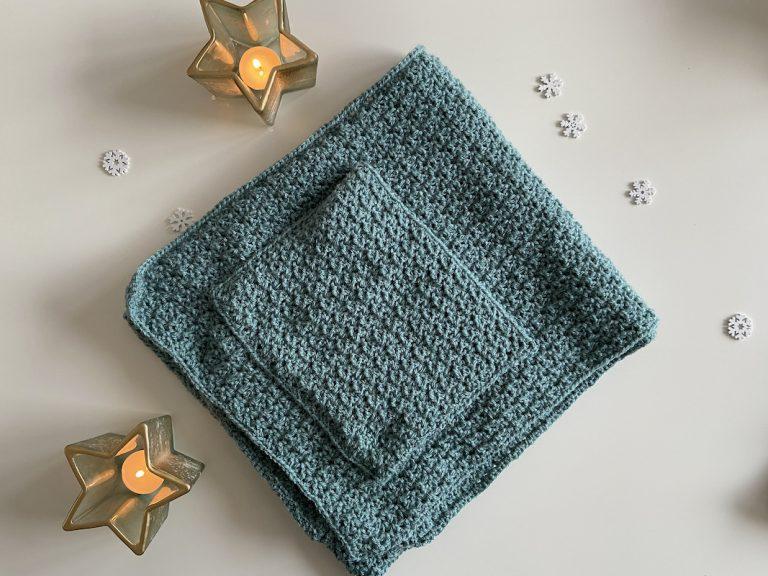 pocket shawl crochet pattern